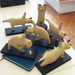 What do you call a herd of cats_ Fresh from a busy BS9 Arts Trail Linda Brogan has brought in a batc