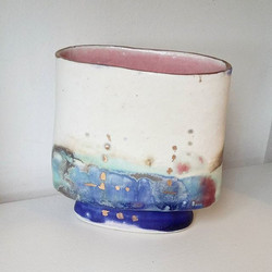 It's always exciting when new work comes in! Jane Gibson recently brought in some of her beautiful v