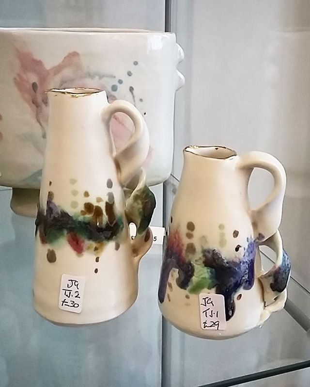 Jane Gibson's jugs are gorgeous. We have two of these little ones for sale.😍_._._._