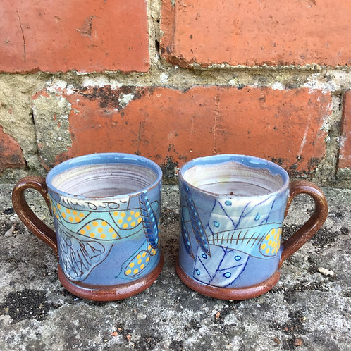 Bridget Williams Microblue Espresso Mug