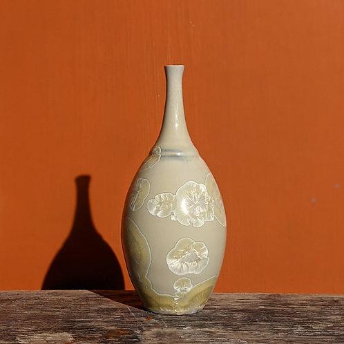 Crystalline Glaze Yellow Bottle