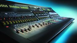 Estudio de grabación profesional.