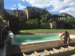 La piscine partagée