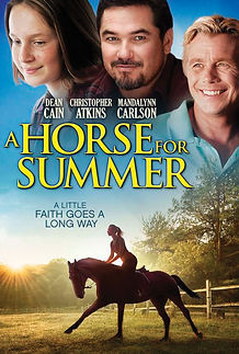 A Horse For Summer Official Movie Poster featuring Jason Wiechert as a New York City Police Officer.