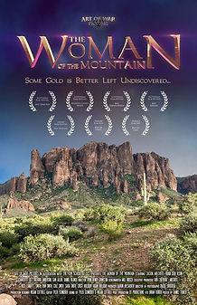 The Woman of the Mountain movie poster starring Jason Wiechert.