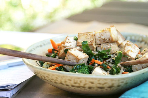 Mixed Salad+Tofu