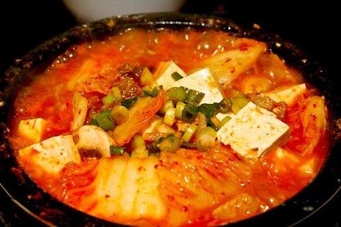Kimchi Soup + Rice