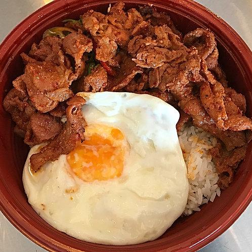 Bibimbap (Veg+Egg+Rice)