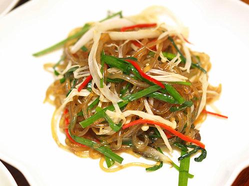 Japchae (Potato noodle + Veg)