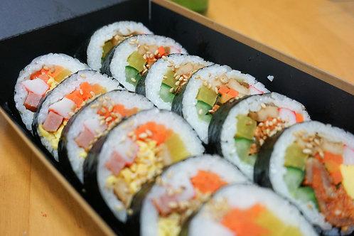 Gimbap (Korean Sushi roll)