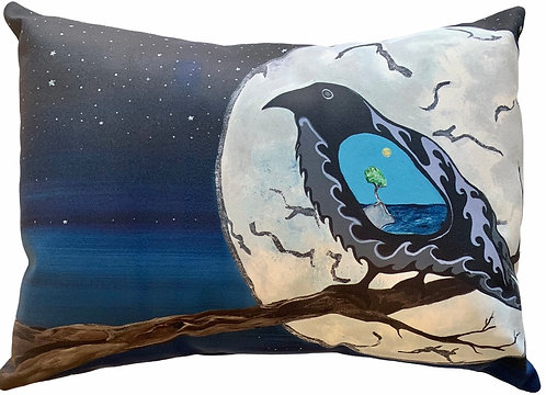 Gaagaagi Evening Cry Pillow (Small) Sam Zimmerman