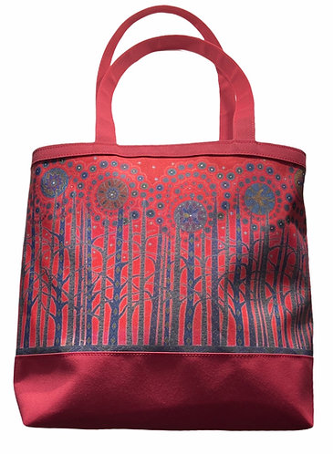 All my Relations tote bag by Leah Yellowbird