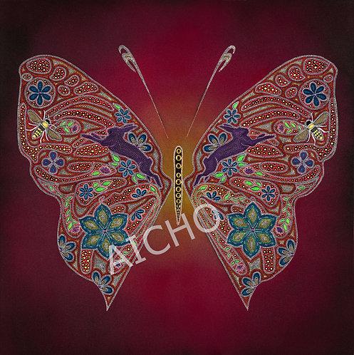 Butterfly - Leah Yellowbird