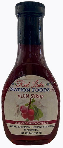 Plum Syrup Red Lake Nation Foods