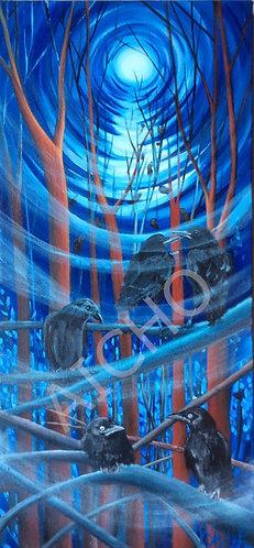 After Hours - Karen Savage Blue