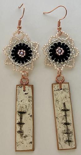Birchbark Earrings 26