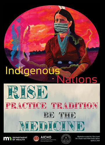 Indigenous Cultural COVID-19 Posters
