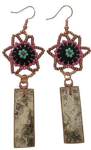 Birchbark Earrings 29