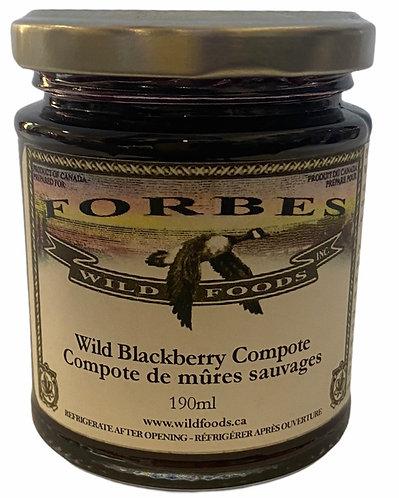 Wild Blackberry Compote