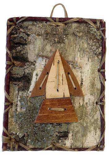 Thunderbird Birchbark Painting