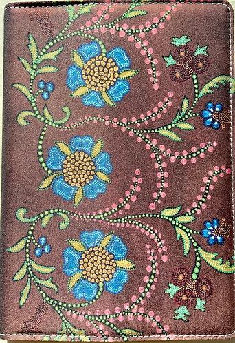 Journal - Brown Floral