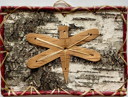 Dragonfly in the Sky BirchBark Design