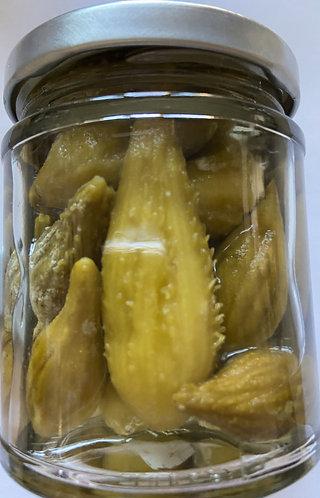 Pickled Milkweed Pods