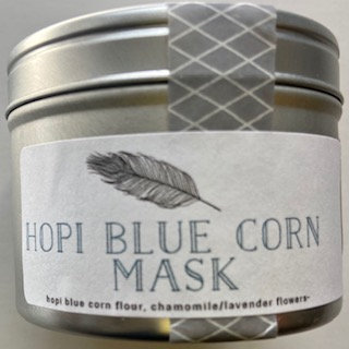 Hopi Blue Corn Mask
