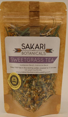 Sweet Grass Tea Sakari Botanicals