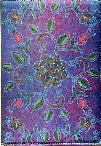 Journal - Purple Floral