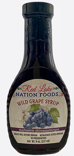 Wild Grape Syrup Red Lake Nation Foods