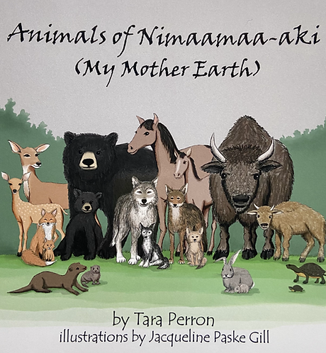 Animals of Nimaamaa-aki (My Mother Earth)