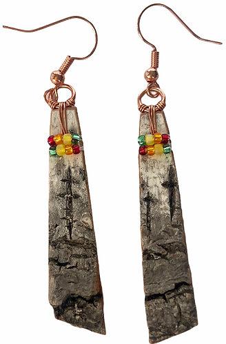 Birchbark Earrings 19