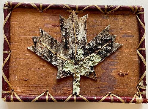 Maple Leaf Birch Design