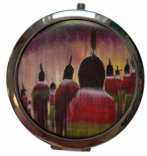 Gathering of Sisters Compact Mirror - Christopher Sweet