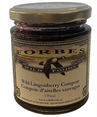 Wild Lingonberry Compote