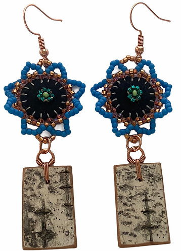 Birchbark Earrings 28