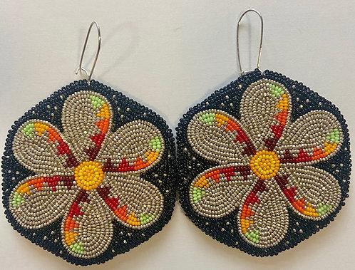 Earrings 22 - Star Flowers