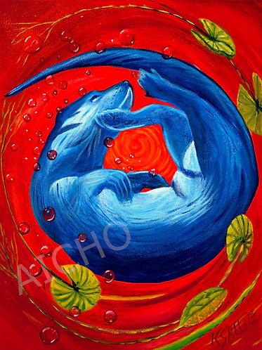 """Nigig """"Otter"""" - Karen Savage Blue"""