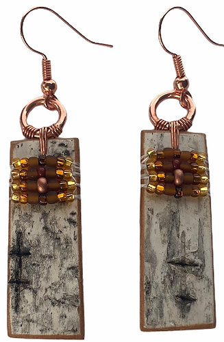 Birchbark Earrings 13