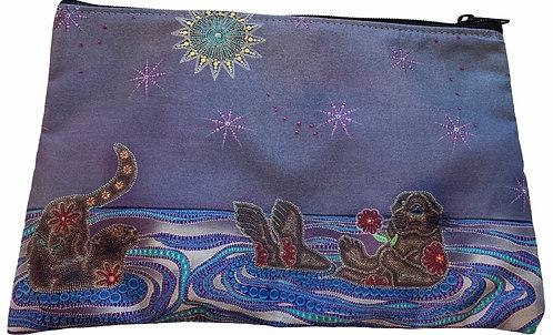 Otters Underneath the Duluth Sky Carrier - Leah Yellowbird