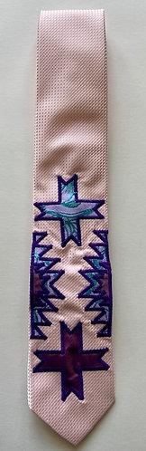 Silk Applique Tie 4
