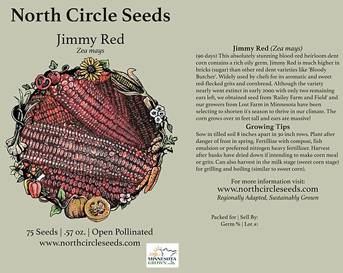 Jimmy Red - Zea Mays