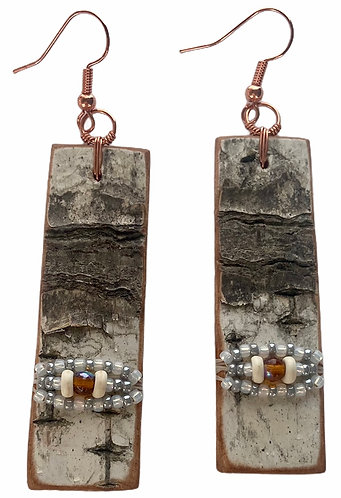Birchbark Earrings 3