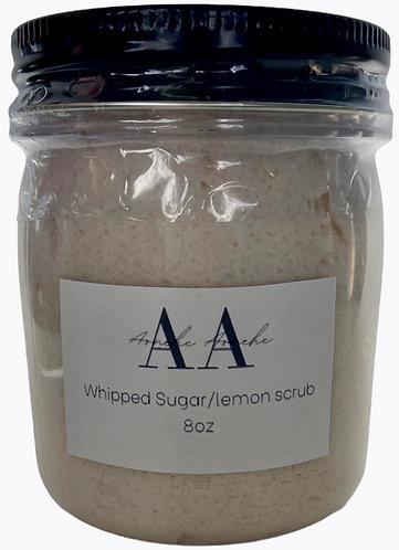 Whipped Sugar Scrub - Lemon