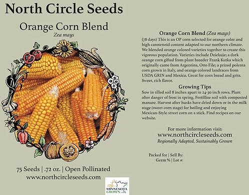 Orange Corn Blend - Zea mays