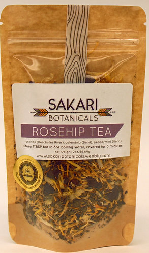 Rose Hip Tea Saraki Botanicals