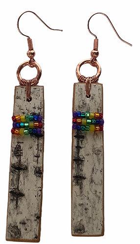 Birchbark Earrings 8