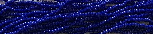 13SB174-CR: CZECH SEED BEAD CHARLOTTE TRUE CUT BLUE 13/0
