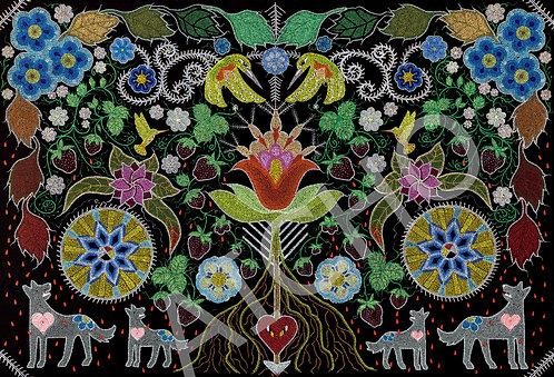 Heart of the Wolf - Leah Yellowbird